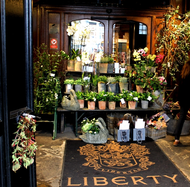 Liberty London's Entrance