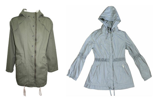 Anorak Jackets || Left to Right: MinkPink & Raindrops