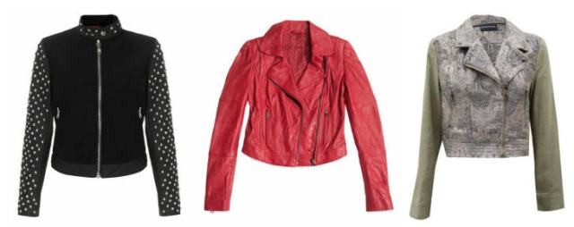 Biker Chic || From Left to Right: Dr. Martens, Guess, MinkPink