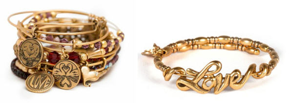 Alex & Ani Valentine's Dat Collection and Love Wrap bangle