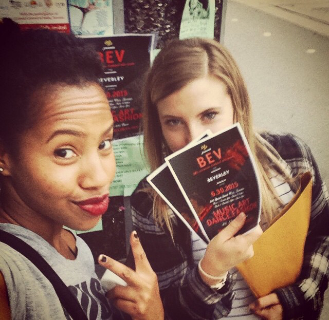 The hustle is real! We're out promoting on Queen West all week, come chat with us!